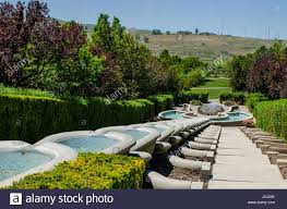 gardens at thanksgiving point complex lehi utah usa stock photo