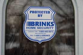 Hi Brinks Burglar Buster 2 Security Yard Sign Brinks Yard Sign 6 Stickers And Similar Items