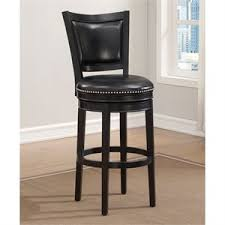 Black Leather Bar Stool Leather Bar Stools Cymax Stores
