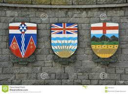 Flag British Columbia The Coat Of Arms For The Provinces Of Alberta British Columbia
