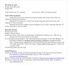 11 script writing templates u2013 free sample example format