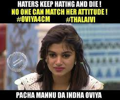 Don Meme - oviya for cm if you don t agree to save this bigg boss