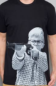ralphie shooting bb gun tshirtvortex