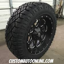 Goodyear Wrangler Off Road Tires Custom Automotive Packages Off Road Packages 20x9 Fuel