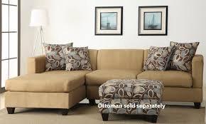 Microfiber Reversible Chaise Sectional Sofa Sectional Sofa Design Simple Reversible Sectional Sofa Chaise