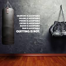 never quit boxing wall mural eazywallz never quit boxing wall mural sports eazywallz