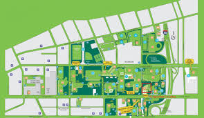 Cleveland State University Campus Map by Mcgs 2015