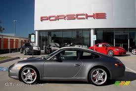 2005 porsche 911 s 2005 seal grey metallic porsche 911 s coupe 855051