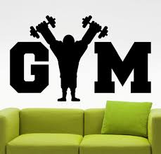 Gym Wall Murals Popular Fitness Murals Buy Cheap Fitness Murals Lots From China