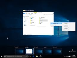 bureau virtue windows 10 gestion des postes de travail virtuels multiples avec