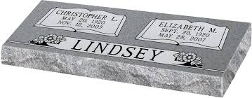 flat grave markers model sd321a rock cut companion grave markers gravestones and