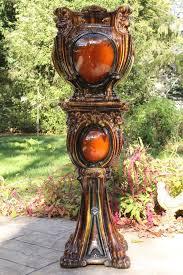 Pedestal Pots Roseville Rozane 1917 Flower Pot Antique Art Nouveau Majolica