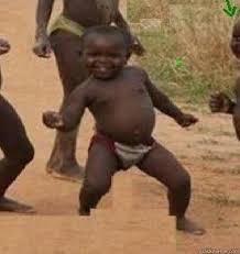 Dancing Baby Meme - it s friday and niggerday niggas dancing african baby quickmeme