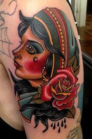 gypsy n rose tattoo on shoulder tattoos pinterest gypsy