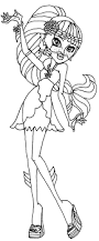 monster high 13 wishes coloring pages getcoloringpages com