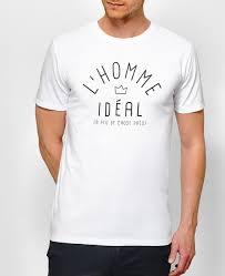 t shirt originale t shirt l u0027homme idéal monsieur t shirt saint valentin
