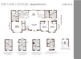 Schult Modular Home Floor Plans 28x58 Ranch Schult Game Changer 5828 1523 Modular Home Plan