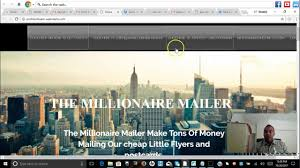 the millionaire mailer 4 and 5 gets alot of signups youtube