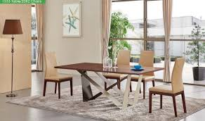 1533 dining table with 2082 chair dining set in walnut free
