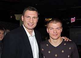 Вячеслав Глазков с Виталием Кличко
