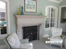 Custom Fireplace Surrounds by Limestone U0026 Marble Fireplaces Stone Center Portland Or