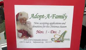 afl cio accepting applications for adopt a family local news
