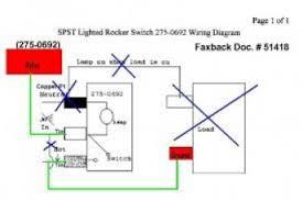 dpst illuminated rocker switch wire diagram dpst wiring diagrams