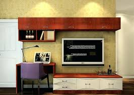Tv Computer Desk Tv Stand Computer Desk And Combo Cabinet For Home