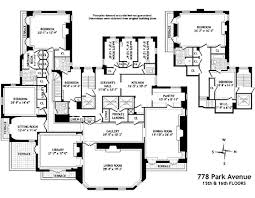 Trump Palace Floor Plans Today In Class Envy Brooke Astor U0027s Park Avenue Floor Plan