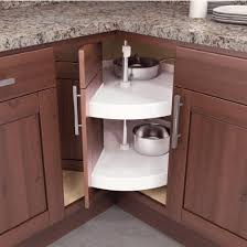 vauth sagel door mounted piecut lazy susan for corner cabinets