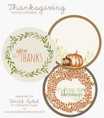 thanksgiving label printables world label