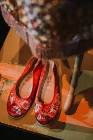 wedding shoes kuala lumpur ser siang and sze liang s garden wedding at st regis