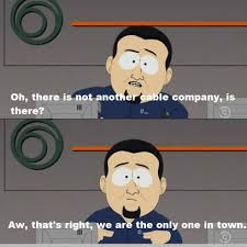 Comcast Meme - south park makes fun of comcast timewarner cable