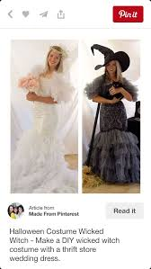 Black Wedding Dress Halloween Costume 69 Dress Witch Images Witch Costumes