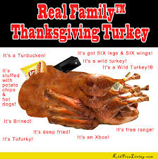 the real family thanksgiving turkey vansant author