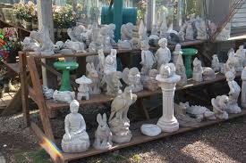 concrete resin statuary at country mile gardens morristown nj
