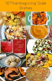 i some thanksgiving side dishes to with you today