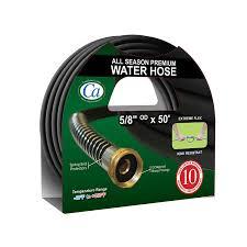 crisp air all season premium garden hose 5 8 inch by 50 feet