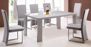 Dining Table And Six Chairs Creative Of Dining Table With Grey Chairs Innovation Idea Grey