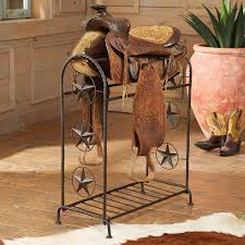lone star metal saddle stand home decor favorites pinterest
