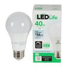 daylight led light bulbs a19 daylight led light bulb 6 w led specialty bulbs canac