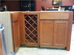kitchen cabinet wine rack kitchen decoration