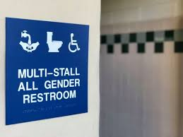 how the new gender neutral bathrooms at cal poly pomona are