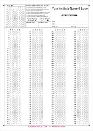 200 question omr sheet sample omr sheet sample download practice