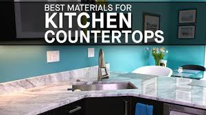 Marble Design For Kitchen by Best Materials For Kitchen Countertops Marble Com Youtube