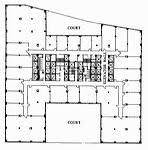 chrysler building floor plans chrysler building william van alen great buildings architecture