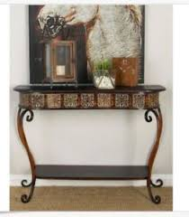 Antique Sofa Table Metal Console Table Ebay