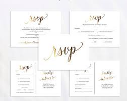 rsvp cards for wedding rsvp card etsy