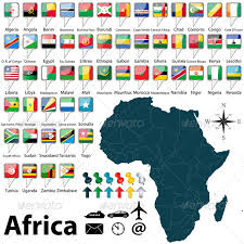 africa map emoji map of africa africa flags and liberia