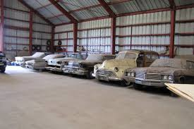 Barn Finds Cars Find 200 Vintage Cars From Old Chevy Dealer Up For Auction